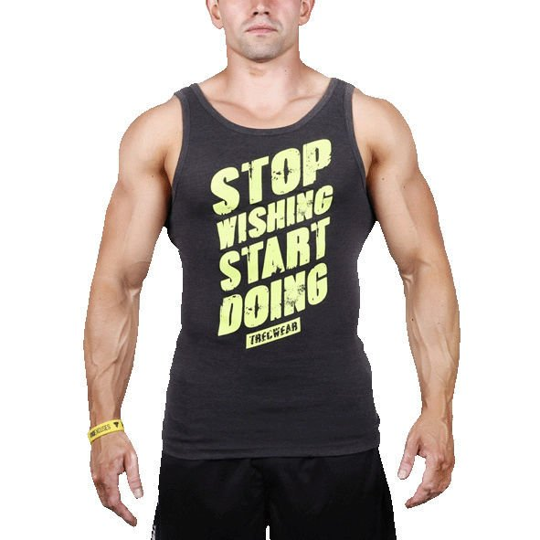 Koszulka Trec Nutrition MEN'S TREC WEAR - STOP - TANK TOP 010/GRAPHITE