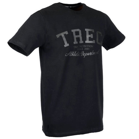 Koszulka Trec Nutrition MEN'S TREC WEAR - TREC BLACK - T-SHIRT 011/BLACK