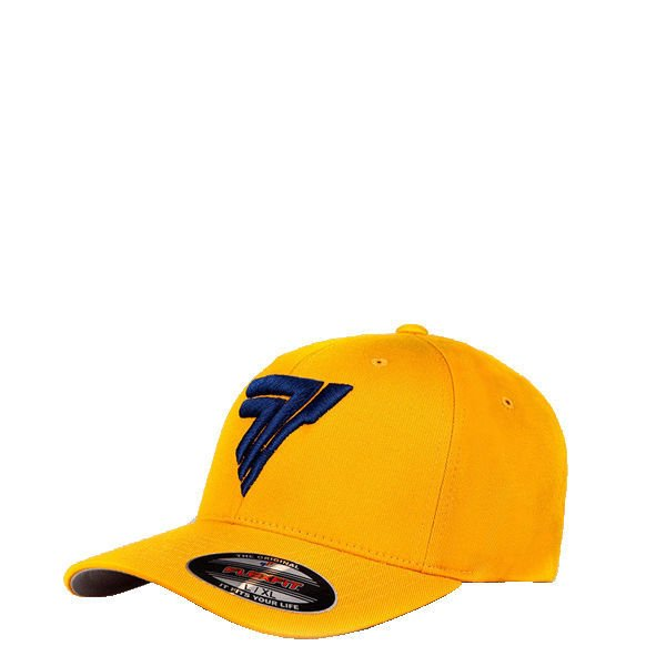 "Czapka Trec Nutrition FULLCAP 015 - BLUE LOGO ""T"" - YELLOW"