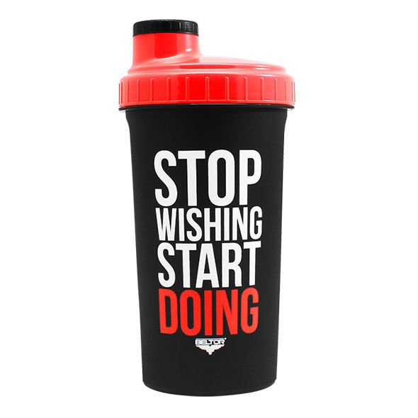 "BELTOR - SHAKER - 0,7 L - ""STOP WISHING START DOING"""