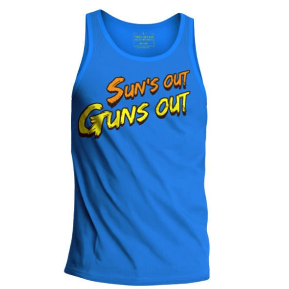 Koszulka Trec Nutrition MEN'S TREC WEAR - SUNS - TANK TOP 005/BLUE