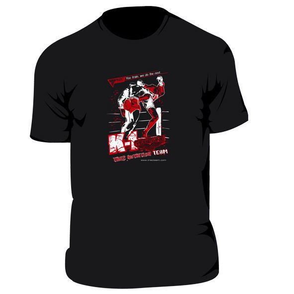 "Koszulka Trec Nutrition MEN'S TREC PROMO - ""K 1"" - T-SHIRT/BLACK"