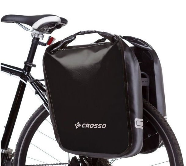 Sakwy rowerowe Crosso Dry Big 60l Click System