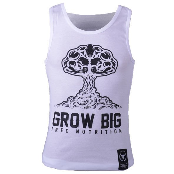 Koszulka Trec Nutrition MEN'S TREC WEAR - GROW BIG - TANK TOP 004/WHITE