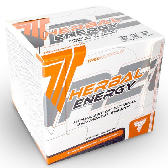 Trec Nutrition Herbal Energy Shot 25 ml x 25 -Box