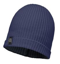 Buff Czapka Knitted Basic Dark Navy