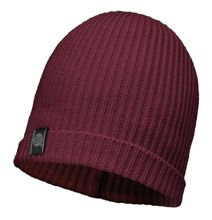 Buff Czapka Knitted Basic Hat Wine