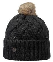 Buff Czapka Knitted Nadia Chic Black