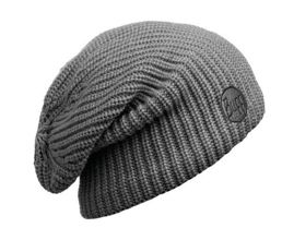 Buff Czapka Knitted & Polar Drip Graphite