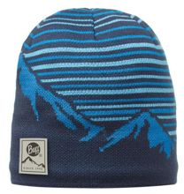 Buff Czapka Knitted & Polar Laki Blue