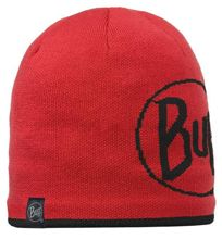 Buff Czapka Knitted & Polar Logo Red