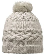 Buff Czapka Knitted & Polar Savva Cream