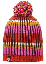 Buff Czapka Knitted & Polar Troy Pink Fluor