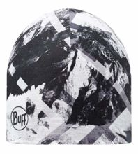 Buff Czapka z Microfibry i Polaru Mountaintop Grey