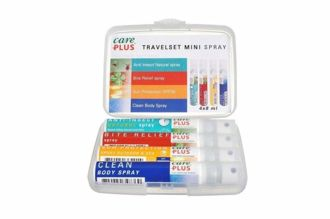 Care Plus Travelset Minispray 8ml, 4-pack