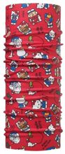 Chusta Child Original Buff® HELLO KITTY FOODIE RED
