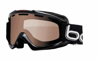 GOGLE BOLLE NOVA SHINY BLACK POLARIZED BROWN