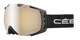 GOGLE CEBE ORIGINS M Black Grey Yellow Flash Mirror