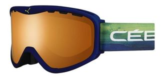 GOGLE CEBE RIDGE OTG BLUE & GREEN ORANGE FLASH MIRROR
