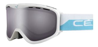 GOGLE CEBE RIDGE OTG RIDGE OTG WHITE & BLUE LIGHT ROSE FLASH MIRROR
