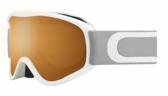 GOGLE CEBE STRIKER M  WHITE ORANGE FLASH MIRROR