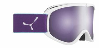 GOGLE CEBE STRIKER M WHITE VIOLET DARK ROSE FLASH MIRROR