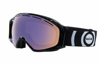 Gogle Bolle Gravity Shiny Black Polarized Aurora