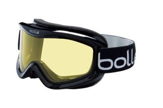 Gogle Bolle MOJO Shiny Black Lemon