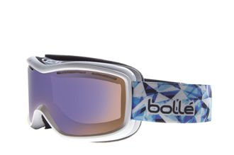 Gogle Bolle Monarch White Aurora