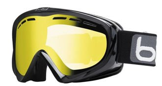 Gogle Bolle Y6 OTG Shiny Black Lemon