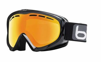 Gogle Bolle Y6 Otg Shiny Black Citrus Gold