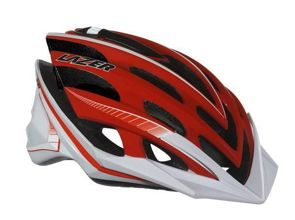 Kask mtb LAZER NIRVANA L red white 58-61 cm