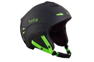 Kask narciarski Bolle Powder Soft Black and Green