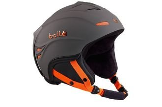 Kask narciarski Bolle Powder Soft Dark Grey & Orange