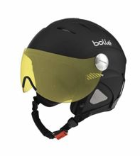 Kask narciarski Bolle Slide Visor Soft Black With Modulator Lens