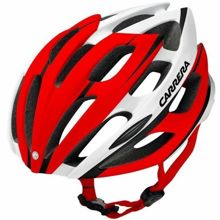 Kask rowerowy Carrera Blitz 2.12 Red White 58-62 cm