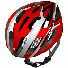 Kask rowerowy Carrera Rocket Red White Shinny 54-57 cm
