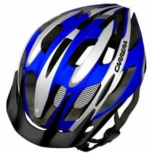 Kask rowerowy Carrera Shake Blue White 58-62 cm