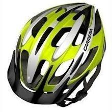 Kask rowerowy Carrera Shake Lime White 54-57 cm