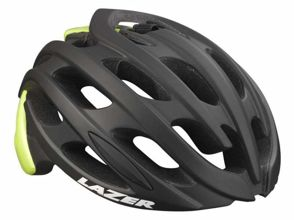 Kask szosa LAZER BLADE M matt black flash yellow roz.55-59 cm