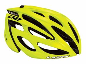 Kask szosa LAZER O2 RD XL flash yellow roz.62-64 cm