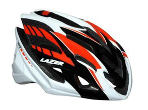 Kask szosa LAZER SPHERE M white black red 52-58 cm