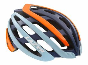 Kask szosa LAZER Z1 S flash orange blue rozm.52-57 cm