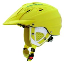 Kask zimowy Alpina Grap Cross Yellow Matt 54-57