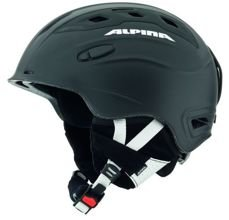 Kask zimowy Alpina Snow Mythos black silk matt