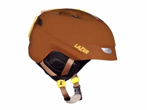 Kask zimowy LAZER EFFECT brown and tan matte L (59-62cm)