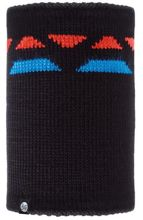 Komin Neckwarmer Buff Knitted Polar Fleece RIGER BLACK