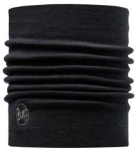 Komin Neckwarmer Thermal Wool Buff BLACK