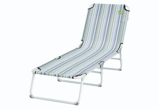 Leżak Easy Camp Pollux Green/Blue