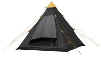 Namiot 4-osobowy Easy Camp Carnival Tipi (White, Pixel, Black,Green)